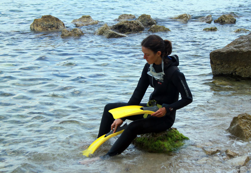 baptême de plongée côte d'azur