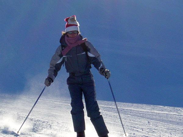 Bonheur des vacances au ski