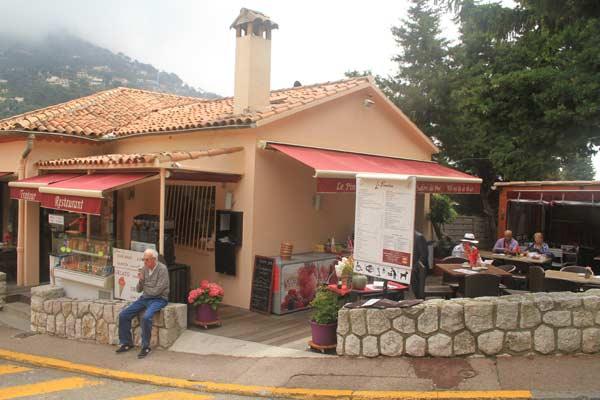 Café à Eze village