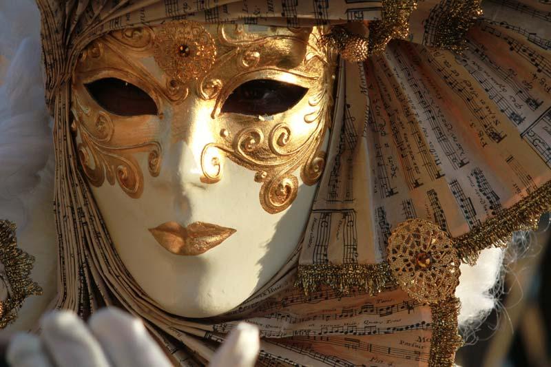 carnaval de Venise masque
