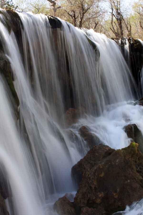 Cascade à Jiuzhaigou