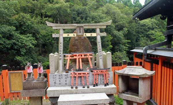 chapelle temple de Fushimi