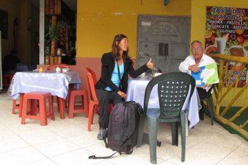 Chauffeur de taxi pour Latacunga