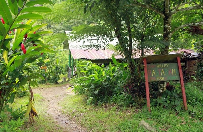 départ rando Victoria Falls Dominique