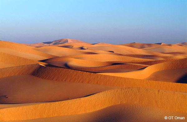 Désert du Sultanat d'Oman