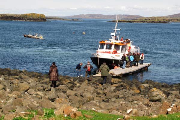 embarquement île de Lunga