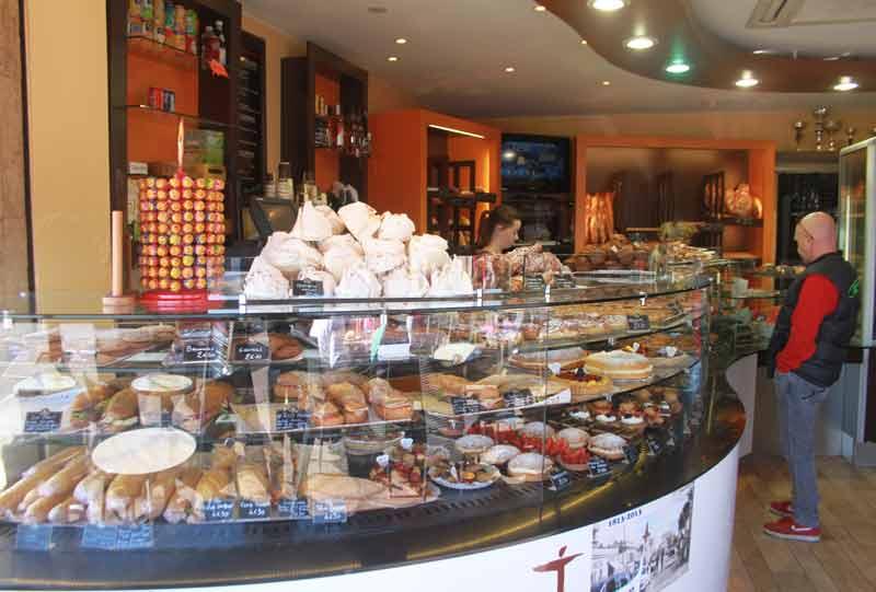 En France aussi... gourmandises de la pâtisserie Jamais & Fils