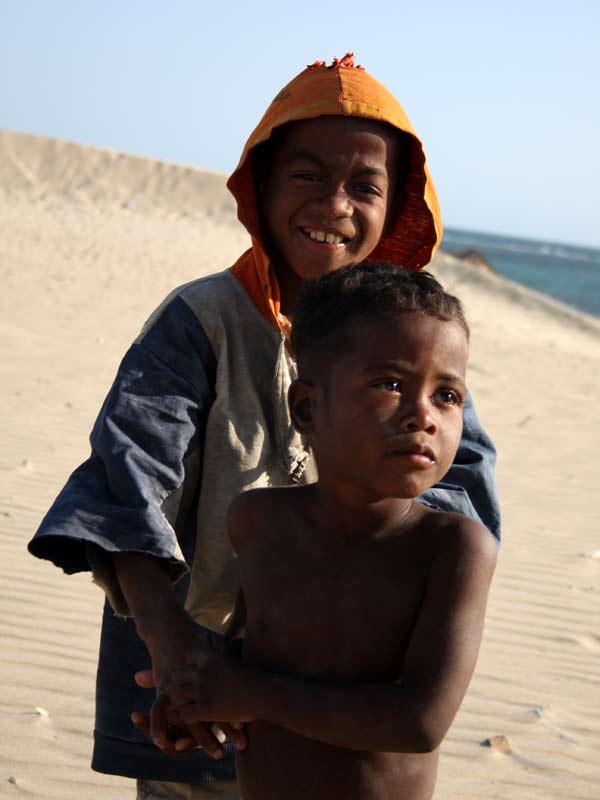 Enfants à Sarodrano