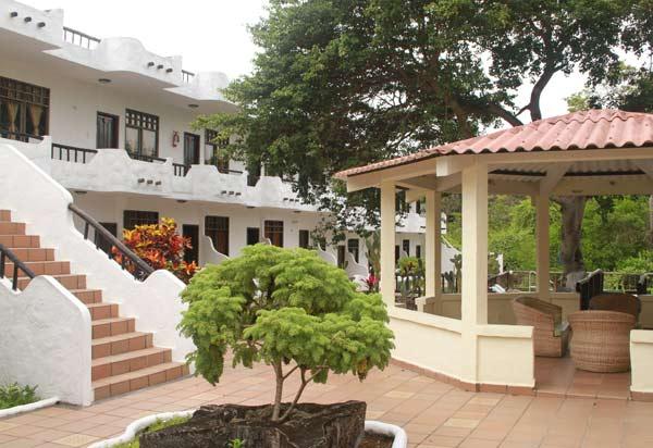 Environnement de l'hôtel Fiesta aux Galapagos