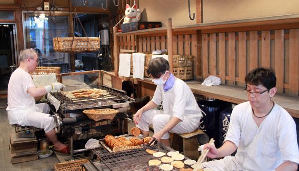 fabrication artisanale Asakusa