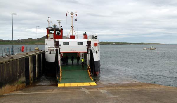 ferry île d'iona depuis Fionnphort