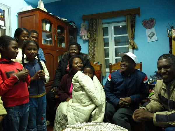 Accueil à l'orphelinat de Fianarantsoa