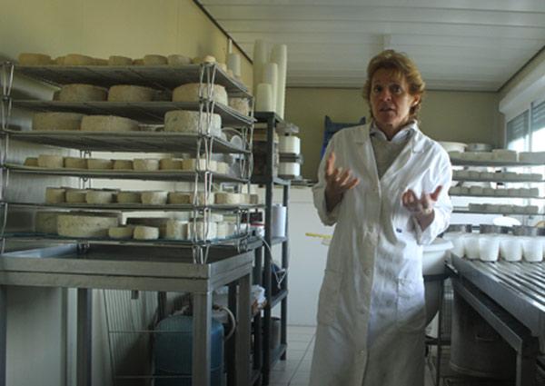 Affinage des fromages de chèvre