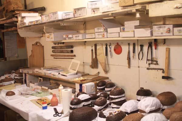 Atelier de fabrication de la chocolaterie Marcellin