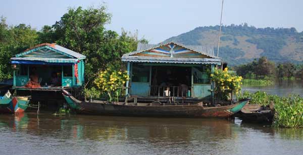Au départ de Siem Reap