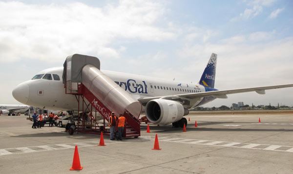 Avion pour les Galapagos