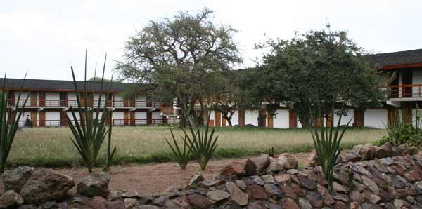 Bâtiment des chambres du Seronera Wildlife Lodge