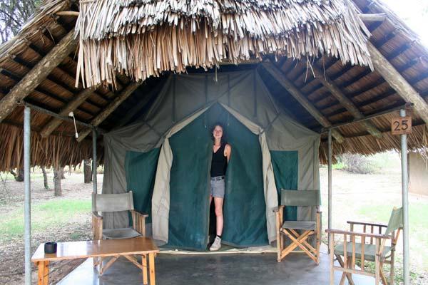 Bienvenue dans ma tente safari