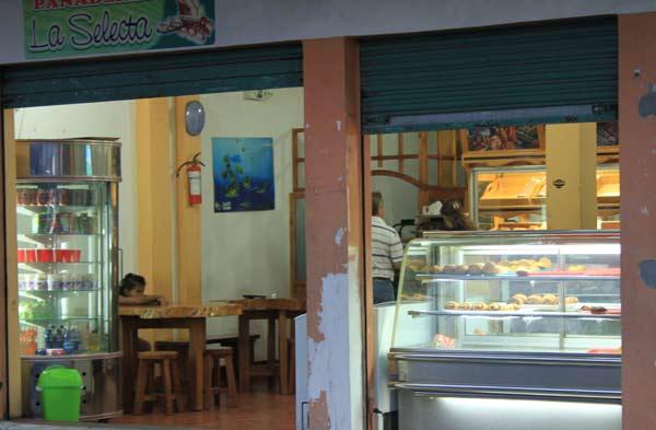 Boulangerie commerces aux Galapagos