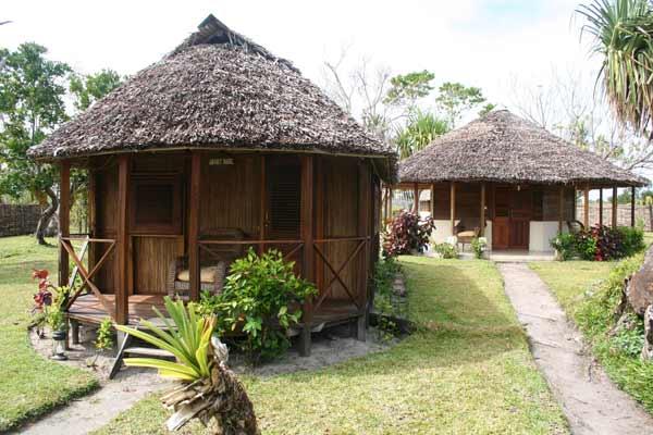 Bungalows du Meva Paradis sur l'île aux Nattes