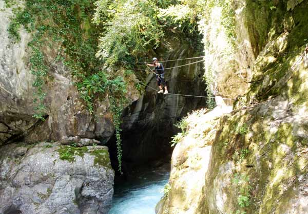 Câble en via ferrata