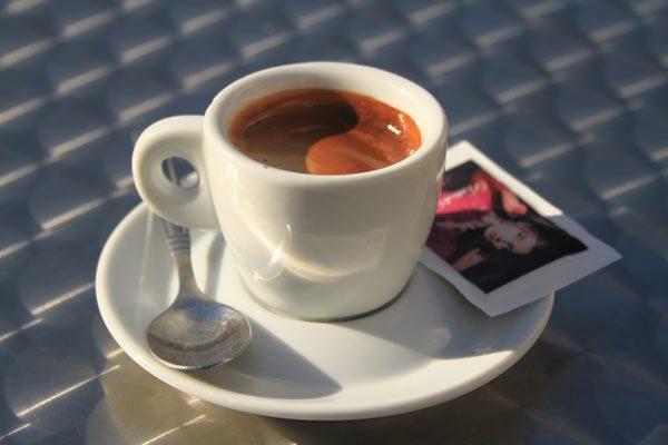 Café italien à San Remo