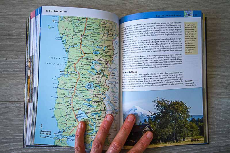 carte guide voyage