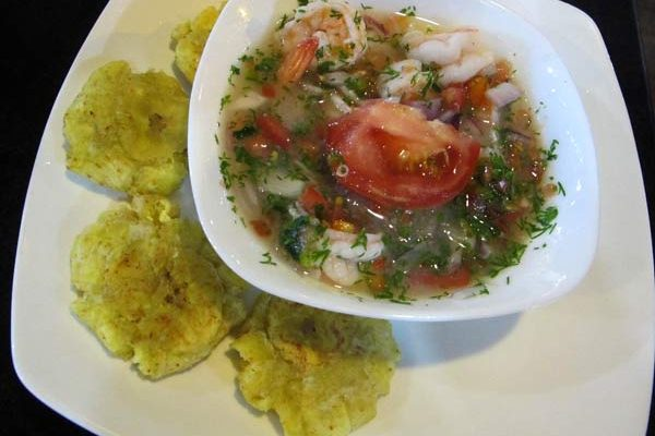 Ceviche aux Galapagos