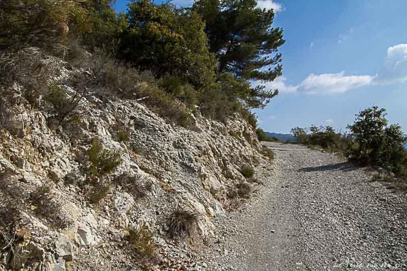 Chemin rando Rocca Spavièra