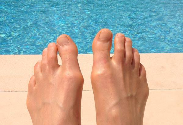 Cocktail d'été, doigts de pieds en éventail
