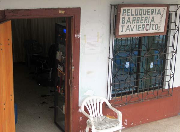 Coiffeur commerces aux Galapagos