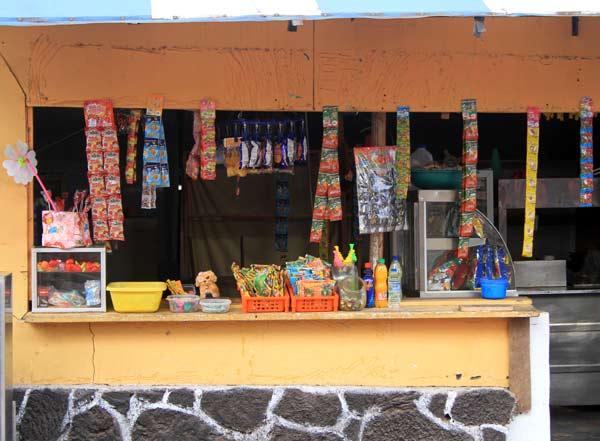 Confiserie commerces aux Galapagos