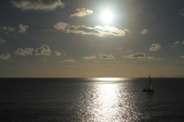 Coucher de soleil au Cap-Ferrat
