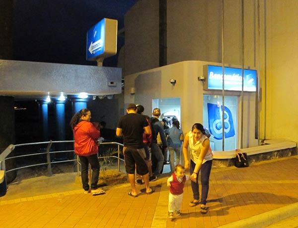 Distributeur automatique aux Galapagos