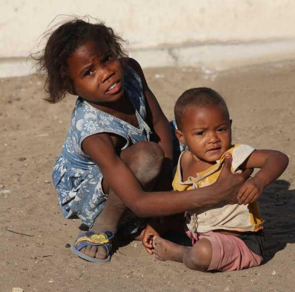 Enfants du village