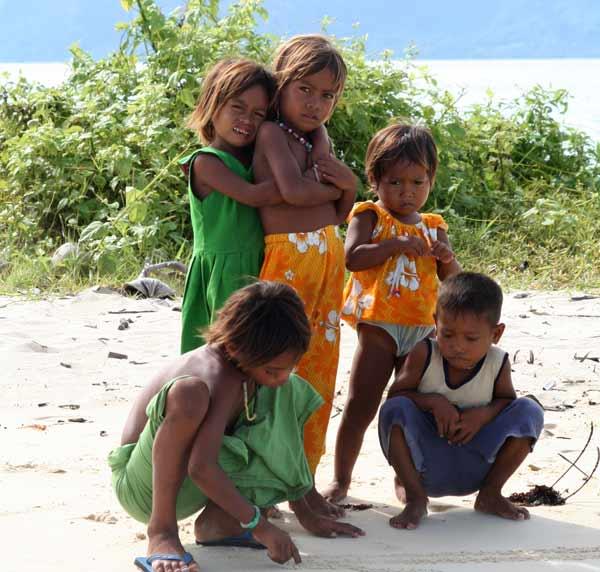 Enfants à Sibuan