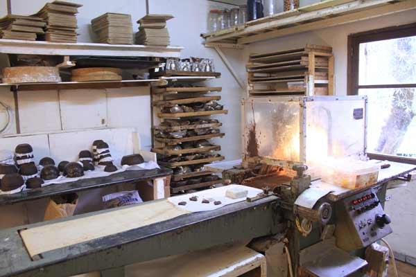 Fabrication de chocolats