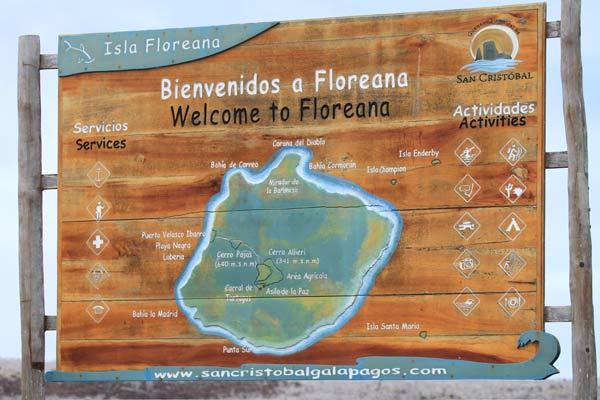 Galapagos : île de Floreana