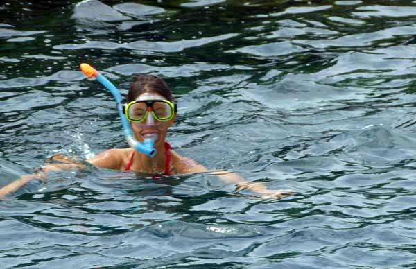 Galapagos : mer glacée en snorkeling