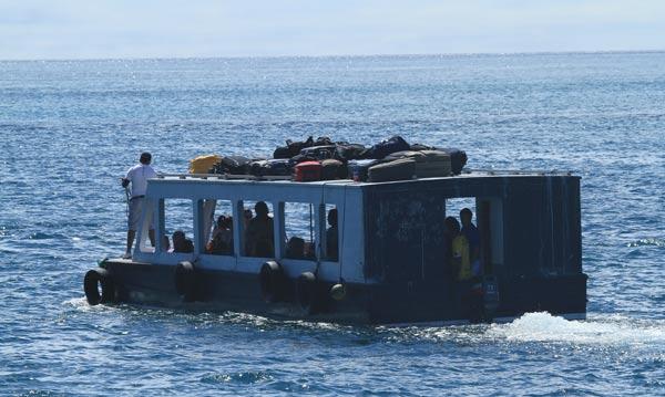 Galapagos : traversée pour Santa Cruz