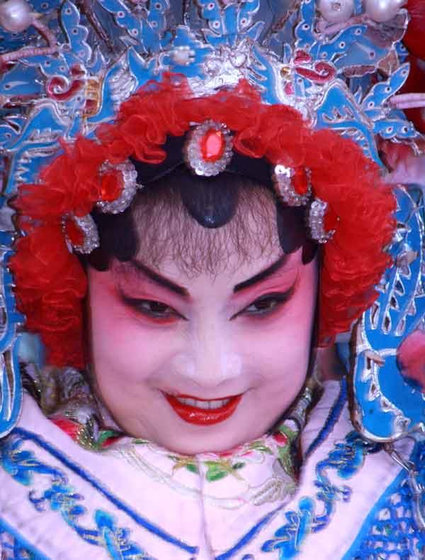 Grimace à l'opéra du Sichuan