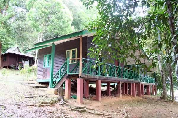 Hébergement lac Chini