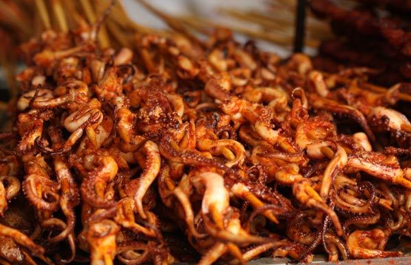 Jinli Street brochettes