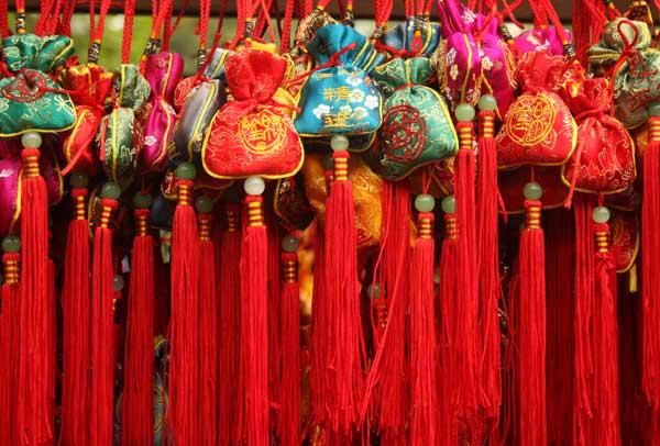 Jinli Street , porte-bonheur