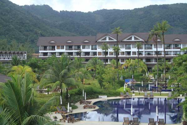 Kamala Beach Resort sur l'île de Phuket en Thaïlande