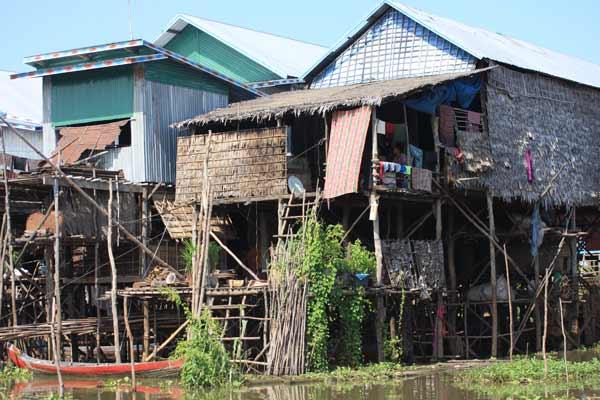 Village flottant de Kompong Phluk