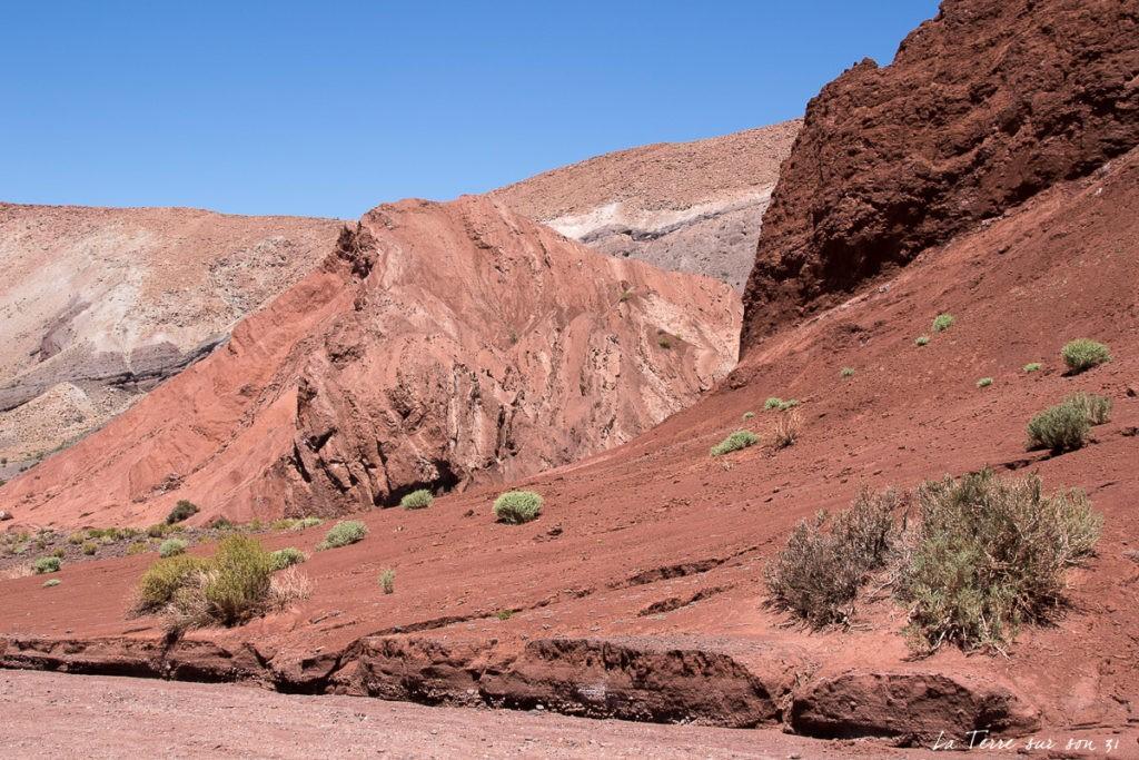 formations géologique vallée arc-en-ciel