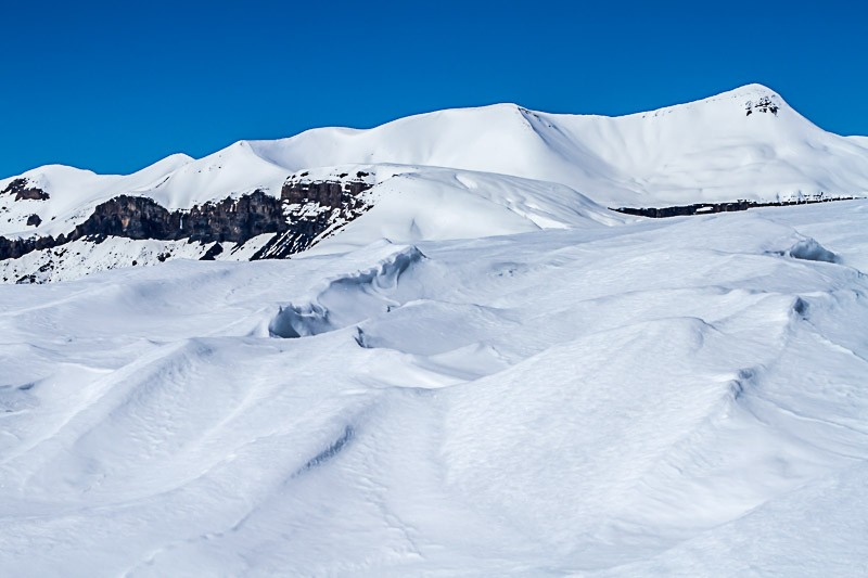 Mont Mounier enneigé