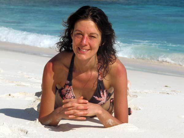 Nathalie aux Seychelles