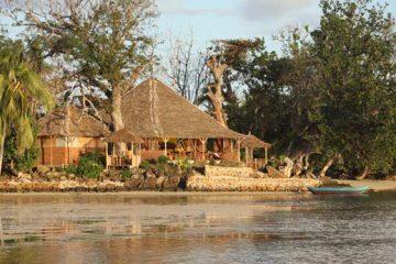 Restaurant les Lémuriens sur l'île aux Nattes